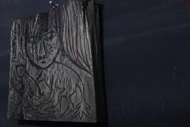 Karya Tungang Iskandar Dalam Nuga-nuga Art Exhbition Komunitas Kanot Bu, Agustus 2016