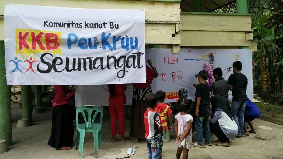 Foto-foto Aksi Peu Kru Seumangat Pidie Jaya Paska Gempa