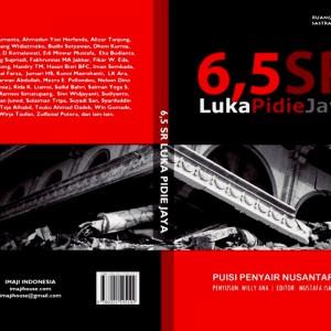 Buku Puisi 5,6 SR Luka Pidie Jaya